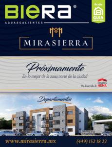 MIRASIERRA, departamentos en Aguascalientes