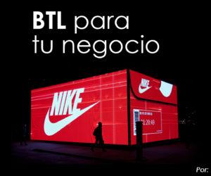 """BTL para tu negocio """"Below the line"""" (Bajo la línea)"""